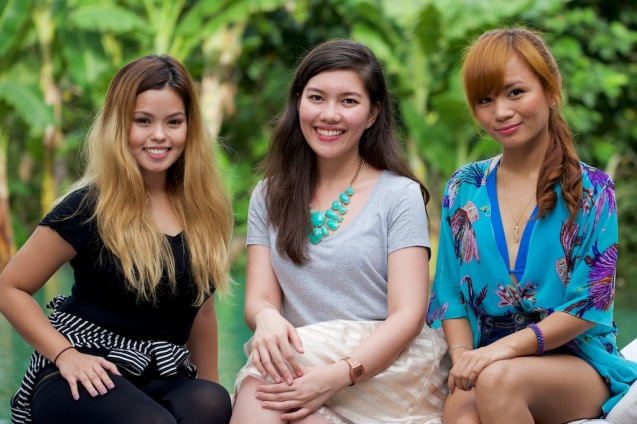 With video bloggers Ana and Kristine :)