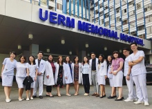 UERM Dermatology residents with our interns